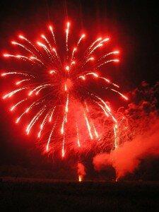Fireworks in Knowlton Quebec