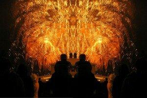 Fireworks psychedelics
