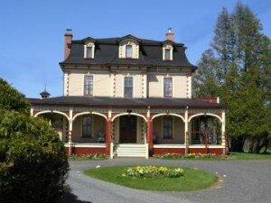 Vintage Victoria house.